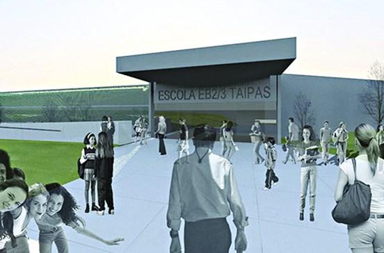 Nova escola das Taipas custa 8 milhões de euros