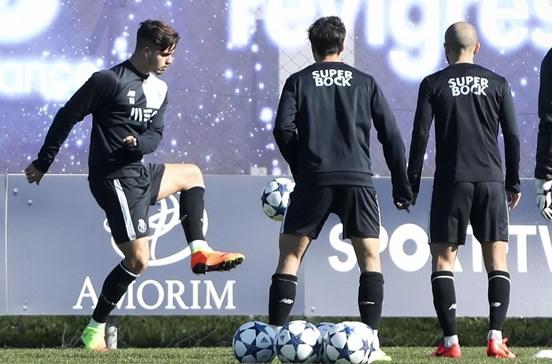 FC Porto prepara receção à 'Juve' na máxima força