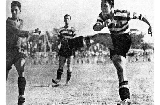Foi há 75 anos que Peyroteo marcou nove golos pelo Sporting