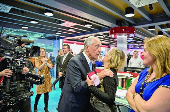 Marcelo perde audiência no regresso à TVI