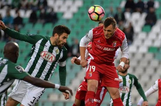 Vitória de Setúbal empata com o Sporting de Braga ao minuto 90