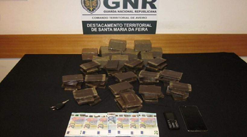 GNR deteve homem com seis quilos de haxixe