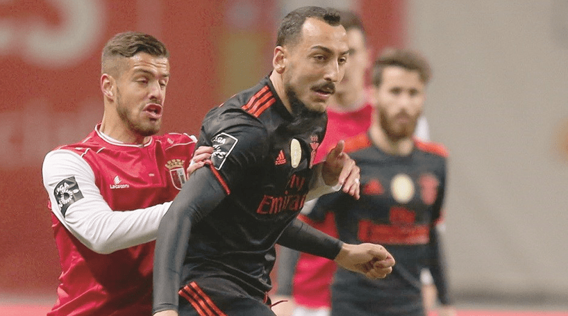 As melhores imagens do Sporting de Braga-Benfica