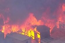 Incêndio atinge favela em São Paulo