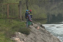 Buscas por pescador desaparecido no Mondego foram suspensas