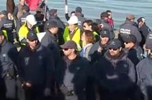Protestos marcam última tomada de posse nos Hangares da ria Formosa