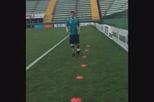 Guarda-redes amputado da Chapecoense já treina