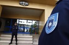 Polícias em protesto à porta de António Costa