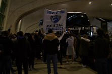 Jogadores do FC Porto recebidos em festa