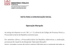 Veja o comunicado do Ministério Público sobre a investigação a Sócrates