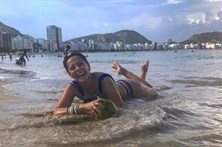 Sofia Ribeiro luta para recuperar a forma
