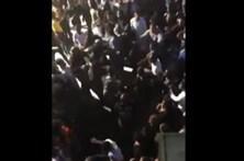 Veja uma rixa na discoteca Luanda