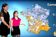 Jovem com síndrome de Down cumpre sonho de apresentar meteorologia na TV
