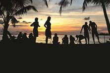 Festa non stop nas praias de Cancún