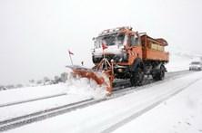Neve corta três estradas no norte do distrito de Viseu