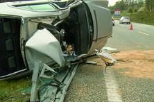 A1 com dois acidentes em meia hora