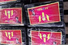Peru apreende cocaína com imagem de Messi e selo do rei de Espanha