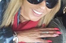 Maria Leal tem sorriso idêntico ao de Flávio Furtado