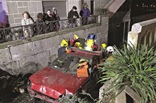 Jovem ferida em despiste brutal em Guimarães
