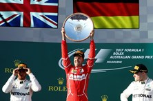 Sebastian Vettel vence GP da Austrália de Fórmula 1
