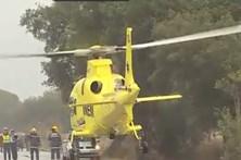 Helicóptero do INEM parado 26 dias