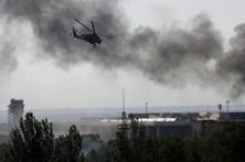 Queda de helicóptero mata cinco pessoas na Ucrânia