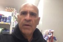 Homem ficou fechado em supermercado de Braga