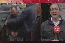 Veja o homicida de Esmoriz à chegada do DIAP de Aveiro