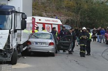 Duas das crianças feridas em acidente ficam nos cuidados intensivos