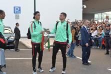 Seleção nacional e Cristiano Ronaldo recebidos em euforia na Madeira