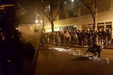 Chineses em confrontos com a polícia de Paris