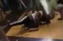 Grupo de indianos espanca violentamente estudantes africanos