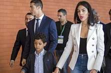 Georgina apoia Ronaldo na Madeira