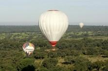 Veja as melhores imagens do espetáculo de balões de ar quente de Coruche