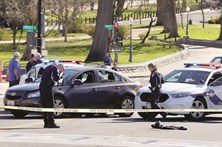 Detenção com tiros junto ao Capitólio
