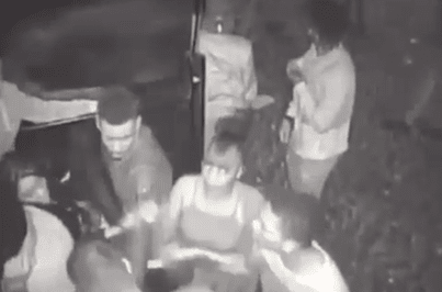 Novas imagens mostram pânico à porta da discoteca Luanda
