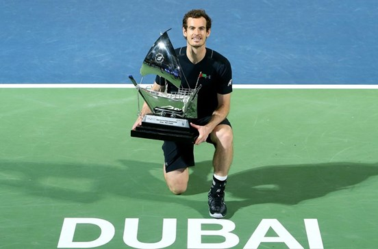 Andy Murray vence torneio do Dubai