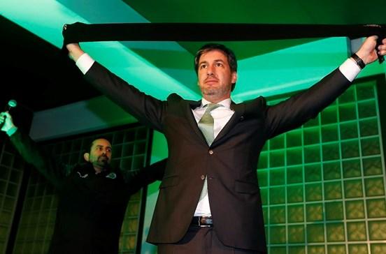Bruno de Carvalho diz que agora o Sporting tem 'matéria-prima' para ser campeão