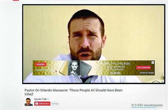 Extremistas recebem publicidade do Google