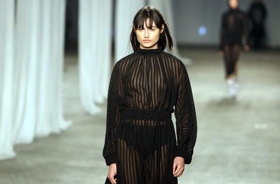Transparências no arranque do Portugal Fashion