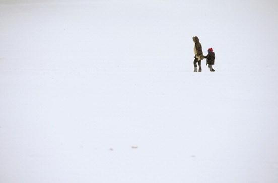 Escolas fechadas em Vila Real devido à neve e gelo