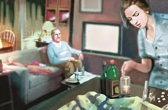 Interna droga idoso para limpar 1500 euros