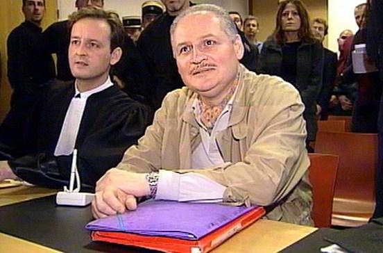 Carlos o Chacal condenado a terceira pena de prisão perpétua