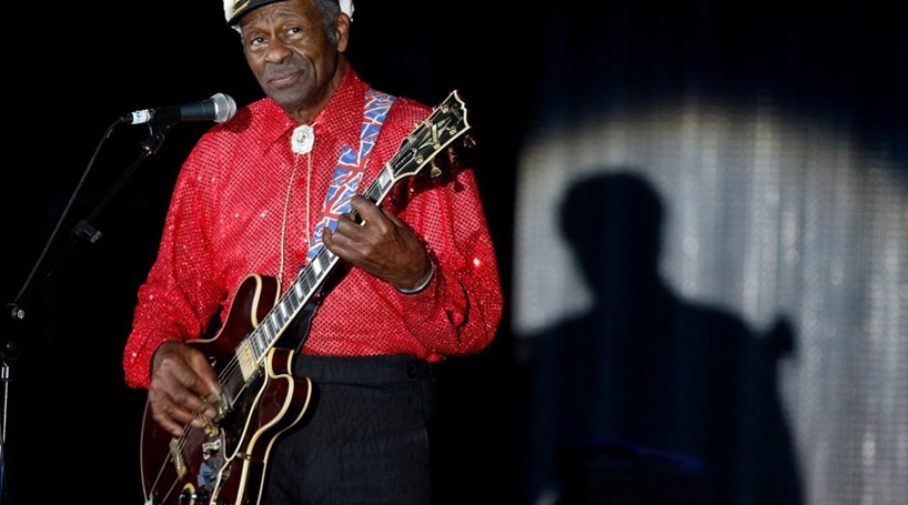 "Morreu Chuck Berry, o pai do ""Rock and roll"""