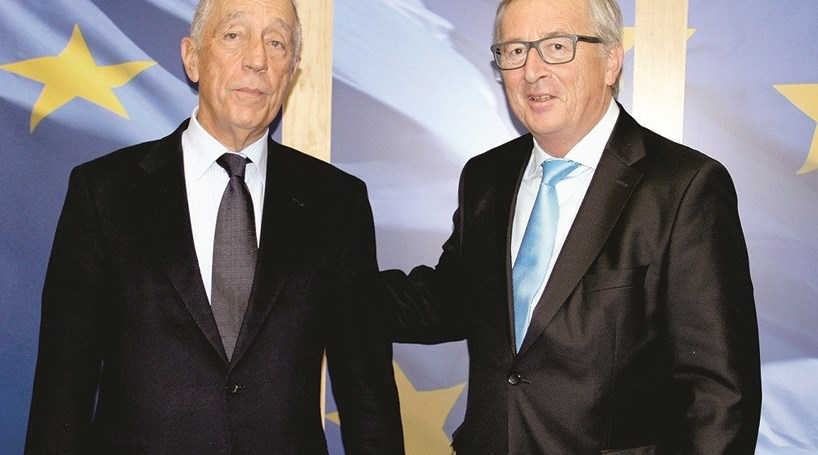 Marcelo pede a Juncker que tire País do radar