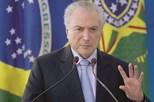 Deputado pede destituição de presidente brasileiro Michel Temer