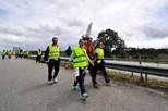 50 mil peregrinos vão a pé ver o Papa