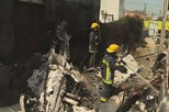 Cinco mortos confirmados em queda de avião em Tires