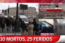 Português descreve situação de alerta na Rússia