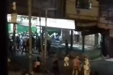 Supermercado saqueado na Venezuela